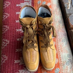 Free People Bristen Leather Mountain Boot US39